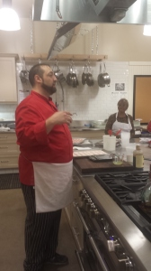 Chef Brett Dolce teaches Macaron Class at Sur La Table Cherry Creek Denver Colorado