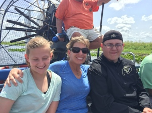 Airboat Ride at Lone Cabbage Fish Camp