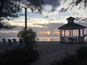 Sunset Beachview from Westin Grand Cayman